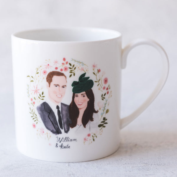 William & Kate, Royal Wedding Commemorative Mug