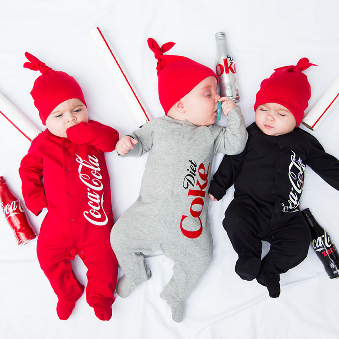 Coca-Cola Bottle Baby Costume, Free SVG Template