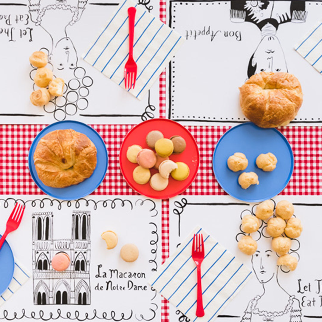Parisian Placemats, PDF Printable