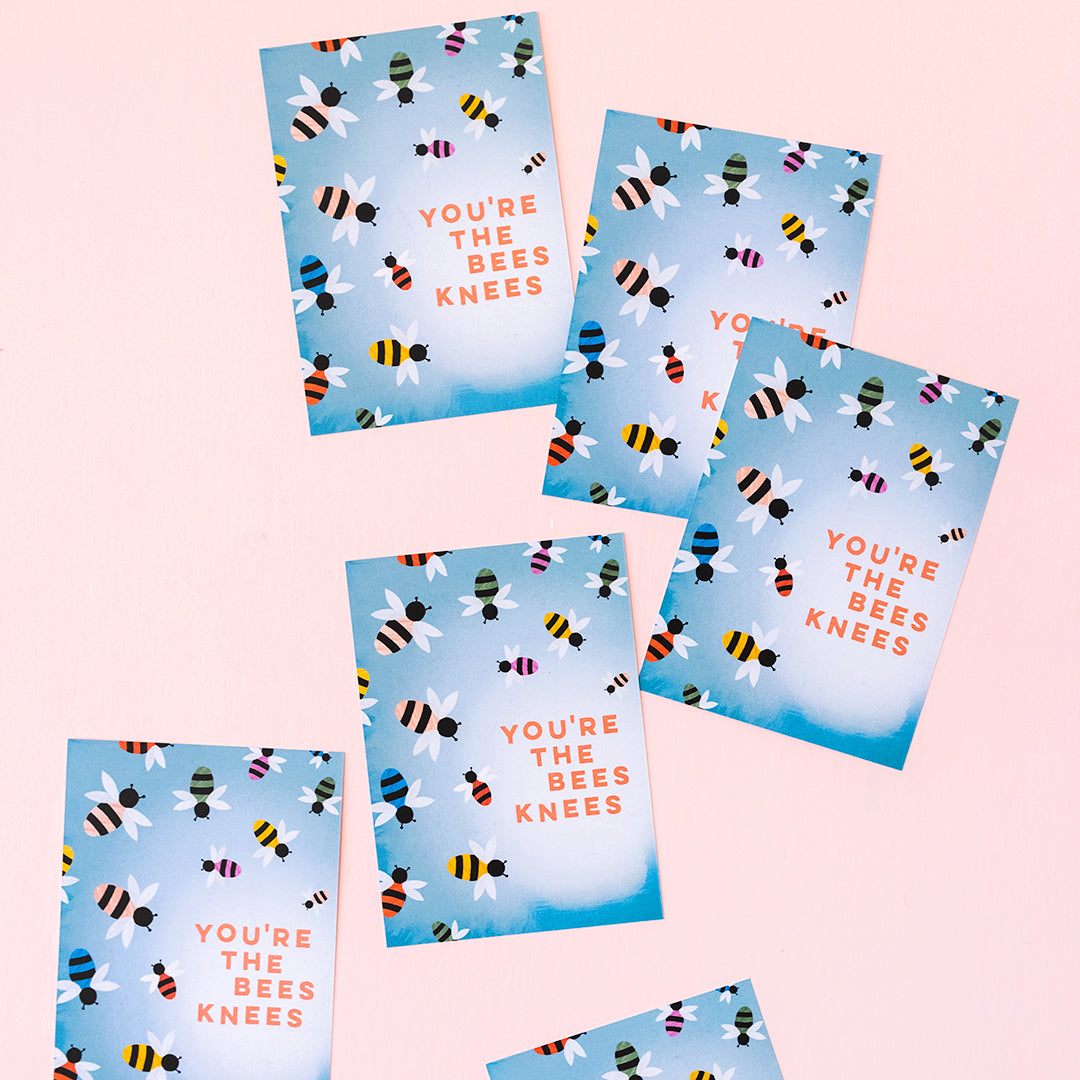 You're The Bee's Knees Valentine, PDF Printable