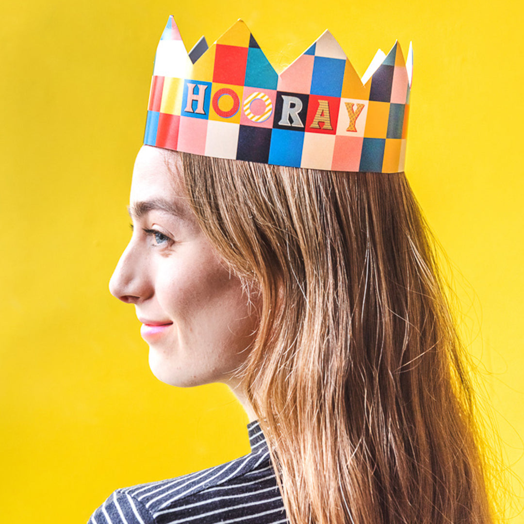 Birthday Crown, PDF Printable