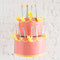 Birthday Cake Chandelier, PDF Printable