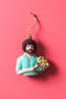 Bob Ross Bust Ornament