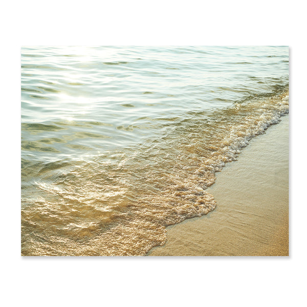 Golden Waves Print by Chaunté Vaughn