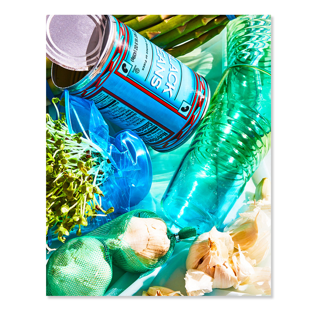 Blue Can Print by Chaunté Vaughn