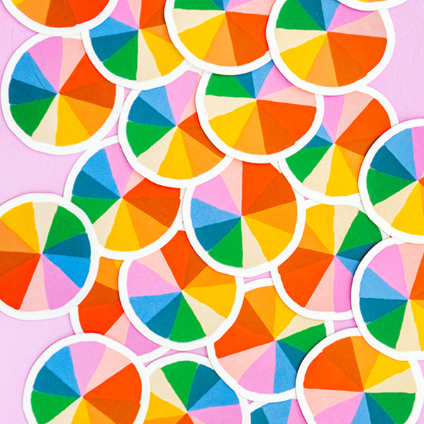 Color Wheel Sticker