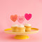 Conversation Heart Cupcake Toppers, PDF Printable