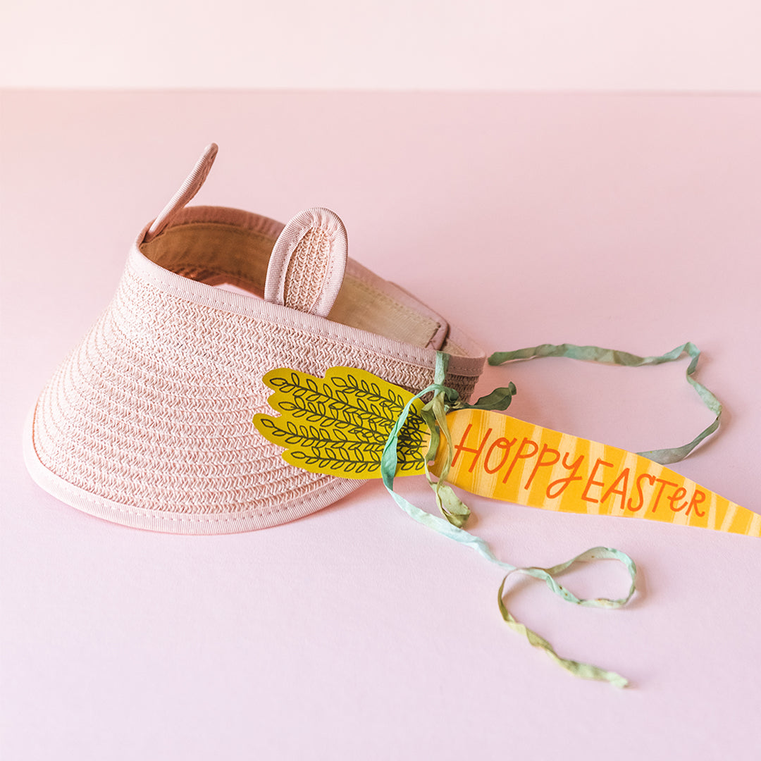 Blush Pink Bunny Visor Kit