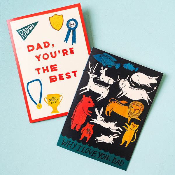 Father's Day Card Suite, PDF Printable