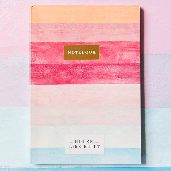 My Life in Color (hardcover guided journal) + Stripe Blank Notebook, Set