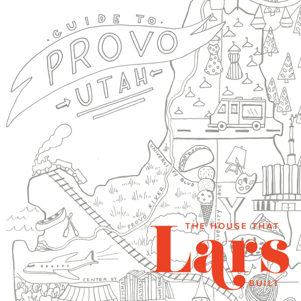 Guide to Provo Utah Coloring Page, PDF Printable