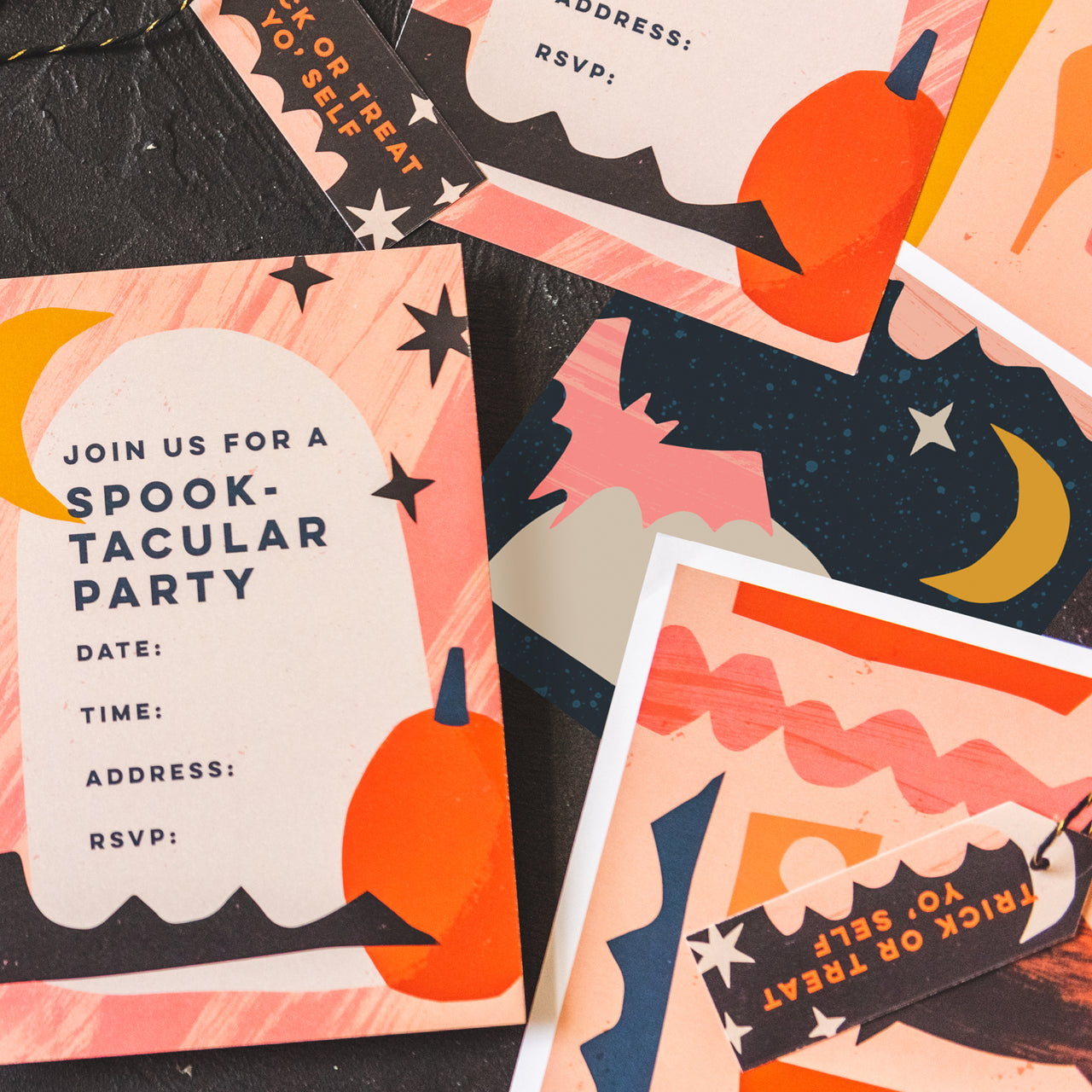 Halloween Party Suite, PDF Printables