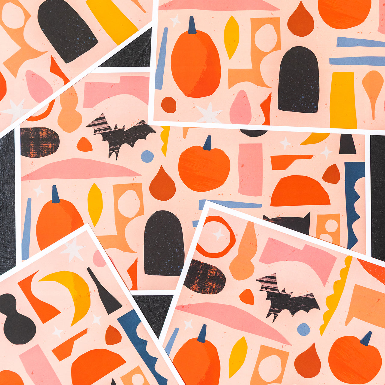Halloween Party Placemats, PDF Printable