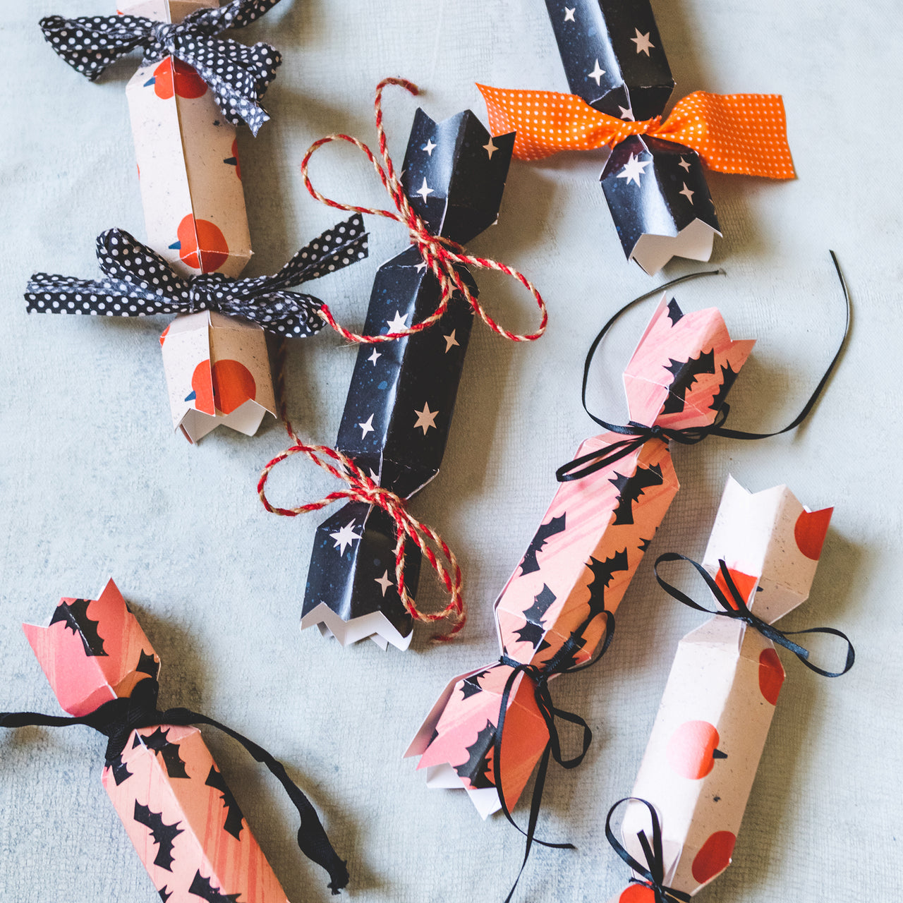 Halloween Poppers, PDF Printable