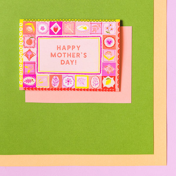 """Happy Mother's Day!"" Mother's Day Card, PDF Printable"