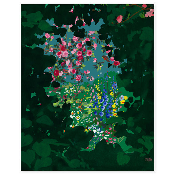 Secret Garden Print by Helen Dealtry