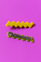 CHUNKS Zig Zag Hair Clips Set