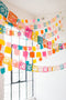 Papel Picado Streamers, SVG & PDF Template