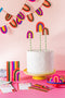 Rainbow Party Birthday Suite, PDF Printable