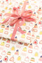 Chocolate Truffles Treats Wrapping Paper (3 pack)