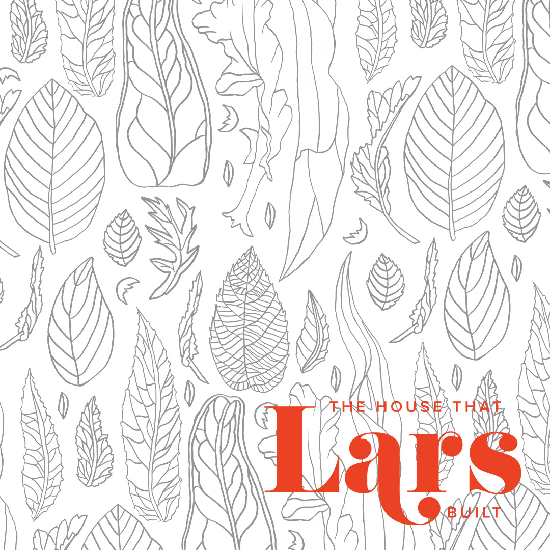 Leaf Pattern Coloring Page, PDF Printable