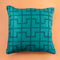 Custom Designer Pillow - Art Deco Teal