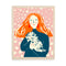 Grace Coddington Memoir Print by Josefina Schargorodsky
