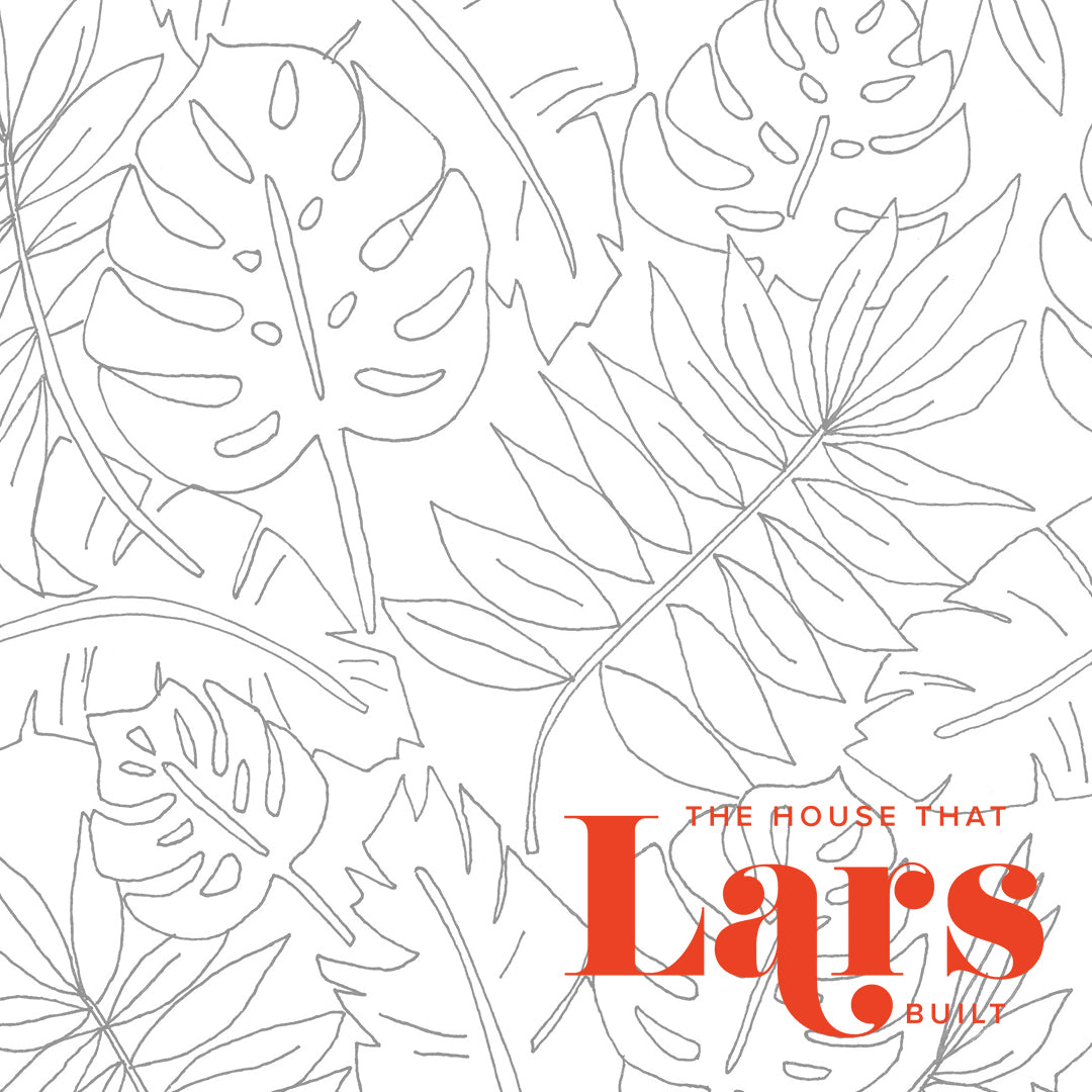 Palm Leaf Coloring Page, PDF Printable