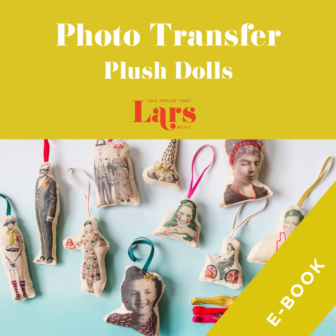 Photo Transfer Plush Dolls, E-Book