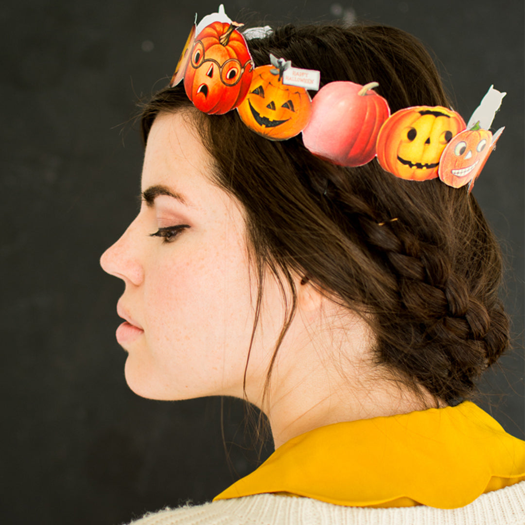 Pumpkin Crown, PDF Printable