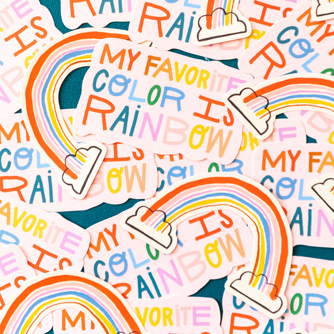 Rainbow Sticker Pack (Set of 2)