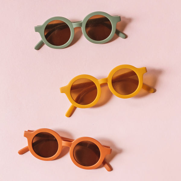 Retro Round Kid Sunglasses