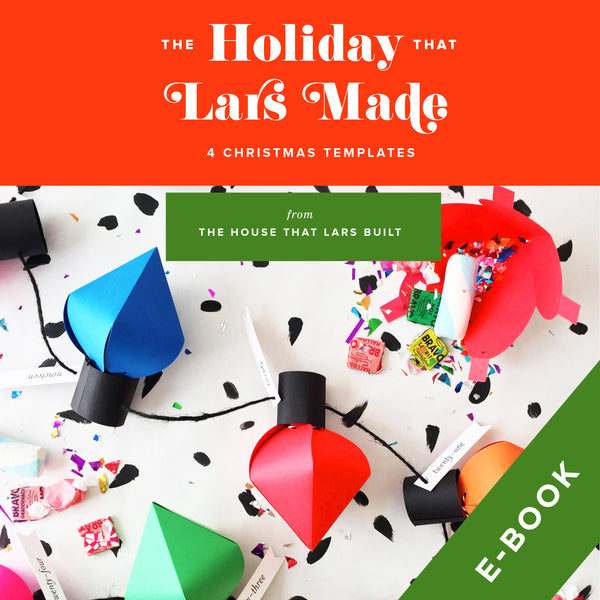 The Holiday That Lars Made, E-book Template