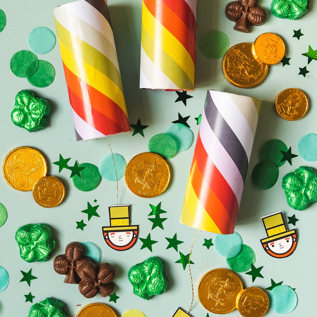 St. Patrick's Day Popper, PDF Printable