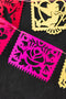 Valentine Papel Picado Streamers, SVG & PDF Template