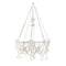 White Pajaki Chandeliers, DS