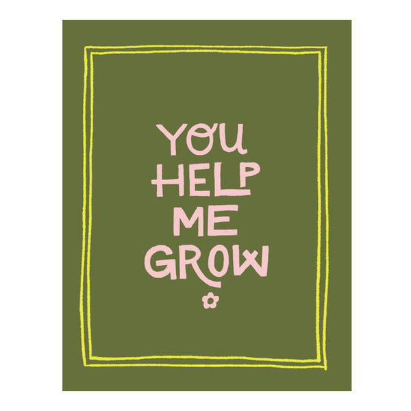You Help Me Grow E-Gift Card