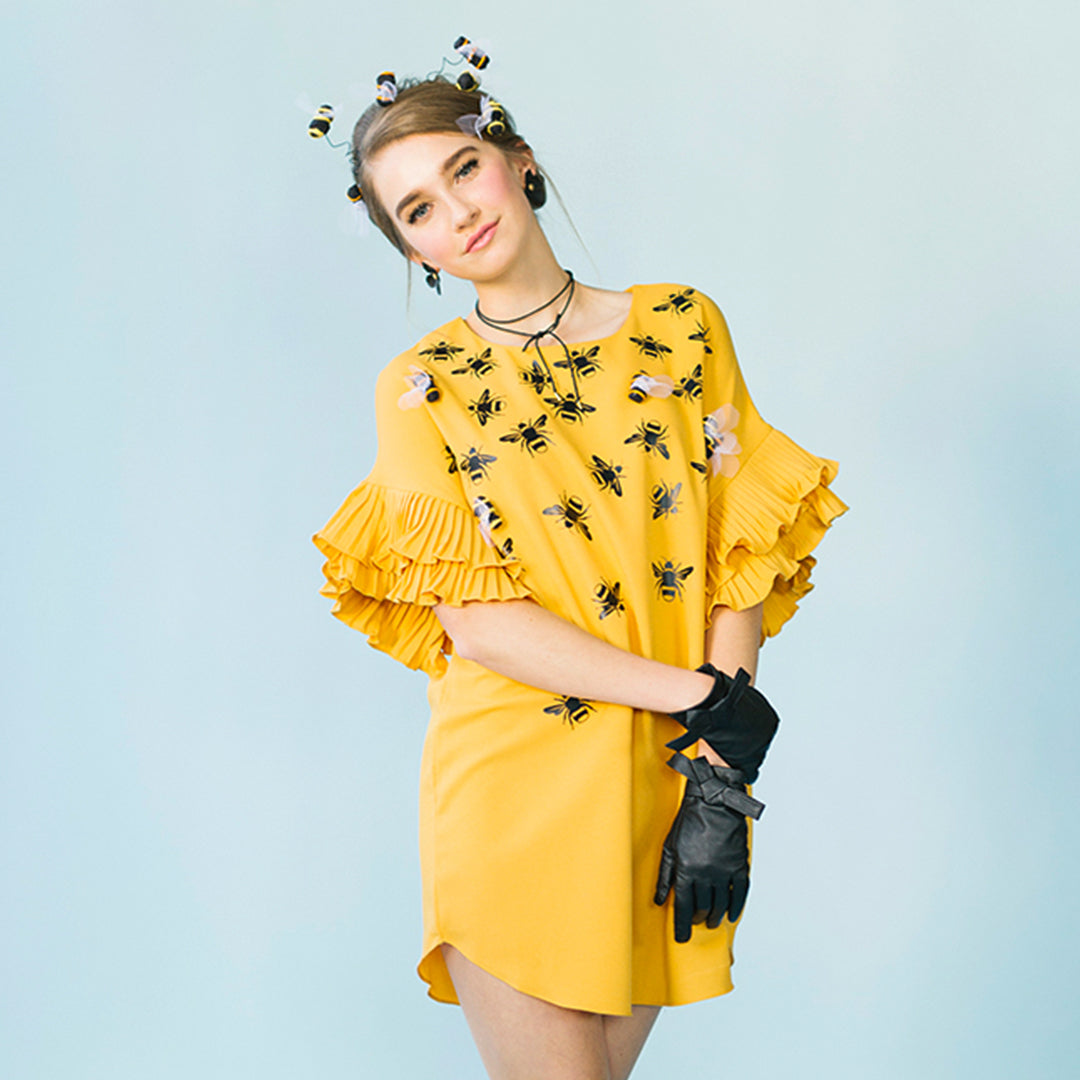 Beehive Costume, SVG Template
