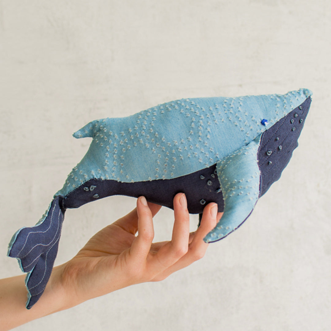 Stuffed Whale, SVG & PDF Pattern