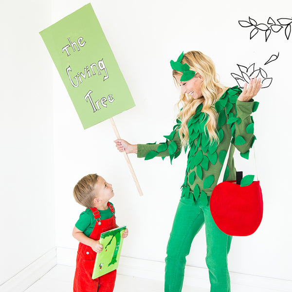 The Giving Tree Costume, PDF Template