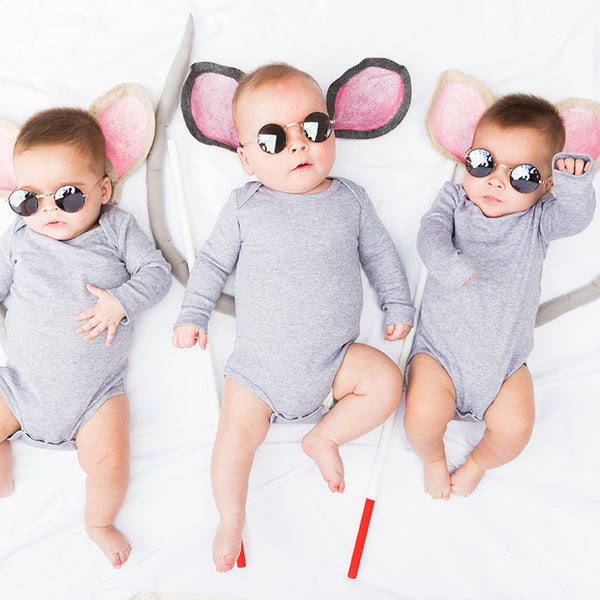 Three Blind Mice Baby Costume, PDF Template
