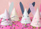 Easter Bunny Party Hat, PDF Template