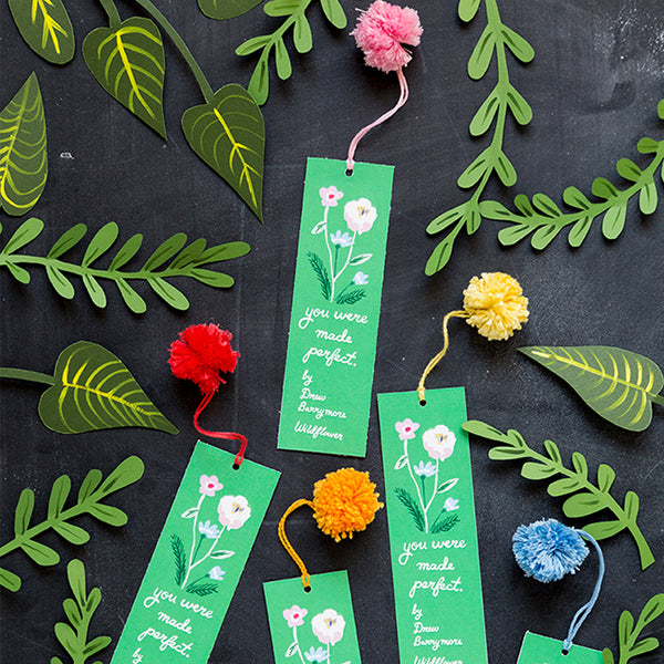 Wildflowers Bookmark, Free PDF Printable