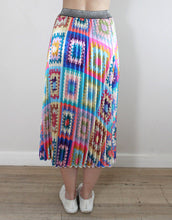 Load image into Gallery viewer, Frankie Pleated Skirt - Patchwork