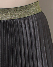 Load image into Gallery viewer, Frankie Pleated Skirt - Charcoal