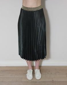 Frankie Pleated Skirt - Khaki