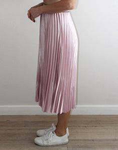 Frankie Pleated Skirt - Pink