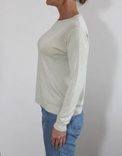 Load image into Gallery viewer, Frankie Long Sleeve Lurex Top - Champagne