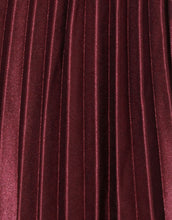 Load image into Gallery viewer, Frankie Pleated Skirt - Wine