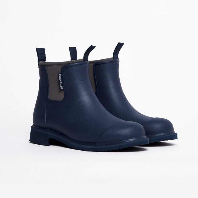 Merry People Bobbi Gumboots - Navy Blue